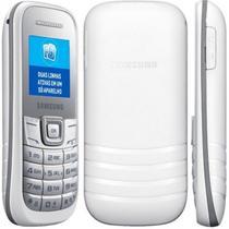 "Celular Samsung E1207Y Dual Sim 900/1800 Tela 1.52"" Radio FM Branco"
