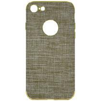 Capinha para iPhone 7/8 Wesdar - Marrom Clara/Dourada