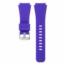 Pulseira 4LIFE de Silicone para Samsung Gear S3 - 22MM - Roxo