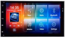 """Mult Aikon 8.0 Android 6.0 Toyota Corolla 18 8"""" AS-49043W c/DVD"""