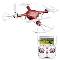 Drone Polaroid PL2000 - com Camera 720P - Vermelho
