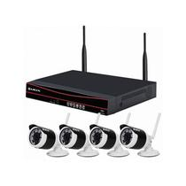Kit DVR Mox MO-KIT402B - 4 Canais - 4 Cameras