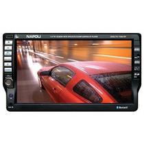 "Central Mulitmidia Napoli Player DVD-TV 7550 Bluetooth/ DVD/ MP4/ USB/ TV 7.5"""