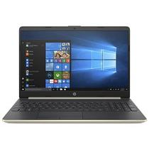 "Notebook HP 15-DW0052WM i5-8265U 1.6GHZ / 8GB / 256GB SSD / 15.6"" HD - Windows 10 Ingles - Dourado"
