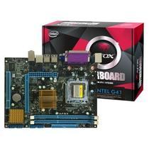 Placa Mãe Afox LGA775 IG41-MA6 VGA/ USB2.0/ Lan/ Som/ DDR3
