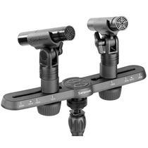 Microfones Condensadores Saramonic SR-M500 com Qualidade de Estudio - Preto