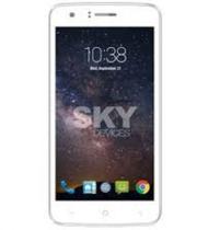 Celular SKY Devices Fuego Plus - 5 Polegadas - Dual Sim - 4GB - 3G - Branco