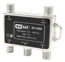 Chave Diseqc Gosat para Receptor 4X1 - GS-41SA