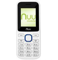 Celular Nuu F2 2G/Dual Branco/Azul