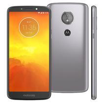 Smartphone Motorola Moto E5 XT1944 Lte 2GB/16GB Tela 5.7 1 Sim 4G Cam 13MPX / 5MPX Android 8.0-Cinza