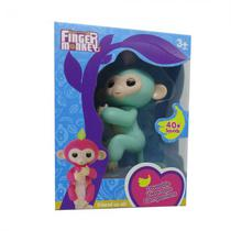 Boneco Baby Monkey Fingerlings Verde