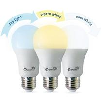 Lampada LED Quanta Noor QTNOOR9 800 Lumens de 3 Cores 9W Bivolt - Branco
