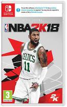 Jogo NBA2K18 - Nintendo Switch