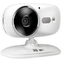 Camera IP Motorola FOCUS86 1080P com Infravermelho e Microfone - Branca