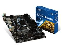 Placa Mãe MSI LGA1151 B250M Pro-VDH M.2/VGA/DVI