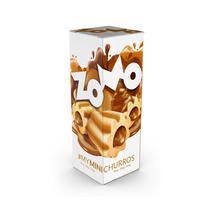 Liquido para Vape Zomo MY Mini Churros 60ML/3MG