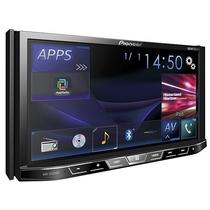 "Toca DVD Pioneer AVH-X5850BT Tela Touchscreen 7"" Aux In/ USB/ DVD/ Mixtrax Ez/ 2-Din"