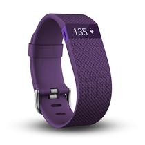 Pulseira Inteligente Fitbit Charge HR L (Grande) Lilas