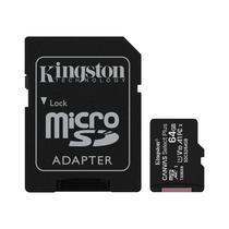 Cartão de Memória Micro SD Kingston Canvas Plus 100 MB/s 64 GB