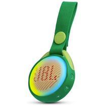 Caixa de Som Portatil JBL JR Pop 3W 600MAH com Bluetooth - Verde