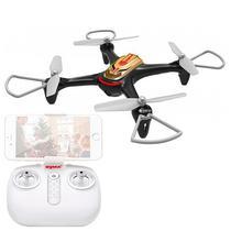 Drone Syma X15W com FPV Via Wi-Fi Giroscopio de 6 Eixos Camera HD 720P - Preto