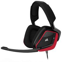 Headset Corsair Void Pro Surround com Microfone Retratil - Preto/Vermelho