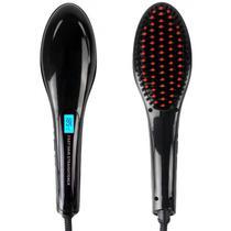 Escova para Cabelo Hair Straightener HQT-906 Bivolt -Preto