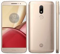 "Smartphone Motorola Moto M XT1663 32GB/4GB Lte Dual Sim Tela 5.5"" Cam.16MP+8MP-Dourado"