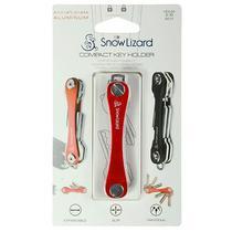 Chaveiro Compacto Snow Lizard para Ate 2-10 Chaves - Vermelho