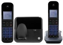 Telefone Motorola M6000-2 - Bina - 2 Bases - Bivolt - Preto