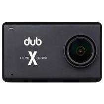 "Camera de Acao Dub Hero X Tela 2.5"" Touch 4K/HDR/Wi-Fi - Preto"