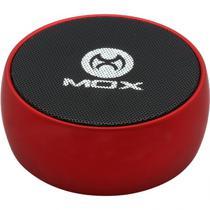 Caixa de Som Mox MO-S09 Portatil SD Aux Vermelho