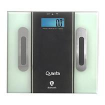 Balanca Digital para Banheiro Quanta Slim QTBL-10 com Bluetooth Ate 180KG  Preta