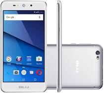 "Smartphone Blu Grand XL G150EQ Dual Sim 3G Tela 5.5""HD 4Core Cam. 8MP+5MP Prata"