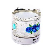 Caixa de Som Portatil X-Tech XT-SB536 com Bluetooth/USB/SD/FM, 3W - Branco
