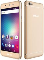 """Smartphone Blu Grand X Dual Sim 3G Tela 5.0""""HD Cpu 4Core Cam. 5MP+5MP Dourado"""