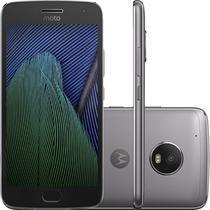 "Smartphone Motorola Moto G5 Plus XT1680 32GB Lte 1SIM 5.2"" Cam.12MP+5MP-Grafitte"
