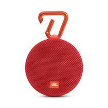 Caixa de Som JBL Clip 2 Wireles Bluetooth Vermelho Original