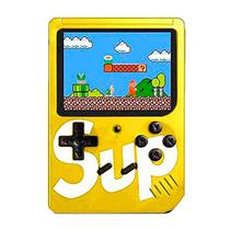 Console Mini Game Retro Portatil Sup Boy Game Box 400 In 1 Amarelo