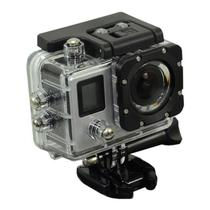 Camera Esportiva Quanta QTSC502 Ultra HD de 16MP 2 Telas com Wi Fi - Prata