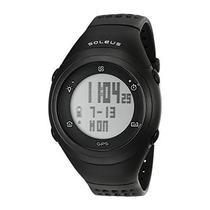 Relogio GPS Soleus SG012-001 GPS FLY Pace/Vel - Preto