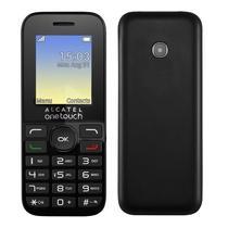 Celular Alcatel 2002D Dual Sim 4MB /2G /1800MAH-Cinza