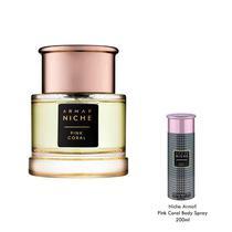 Armaf Niche Pink Coral Eau de Parfum 90ML + Presente