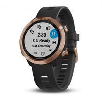 Relogio Garmin Forerunner 645 Music GPS / Bluetooth - Preto e Rose