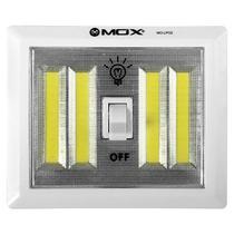 Lampada LED de Emergencia Mox MO-LP02 de 5W A Pilha - Branco