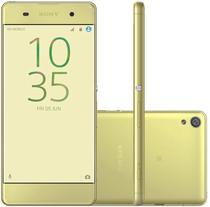 "Smartphone Sony Xperia Xa F3116 16GB Lte Dual Sim Tela 5.0"" Cam.13MP+8MP-Verde"