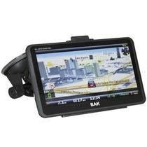"GPS BAK 7009 Tela 7"" USB/3.5MM/TV Digital - Preto"