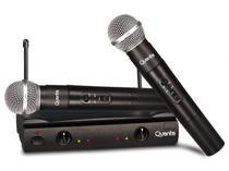 Microfone Quanta QTMIC-103 - Sem Fio - Bivolt
