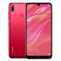 Smartphone Huawei Y7 DUB-LX3 2019 DS 3/32GB 6.26 13+2MP/8MP A8.1 - Vermelho