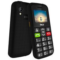 """Celular SKY Devices SKY Torch Dual Sim 64MB Tela de 1.77"""" Camera 0.08MP - Preto"""